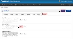 OpenCart seo friendly urls